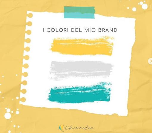 personal branding colori palette identità visiva
