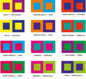 identità visiva scegliere palette colori
